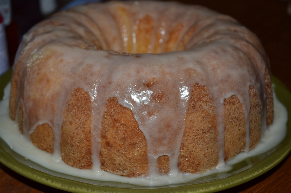 Pound cake!!! Luscious Lemon!