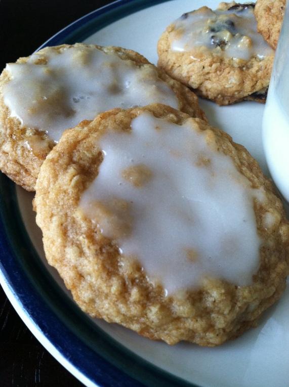 oatmeal iced cookies